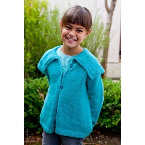 Knit and Tonic Girlfriends Swing Coat PDF -  ()