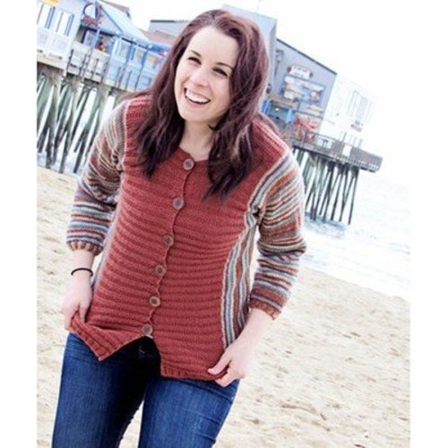 Knit One Crochet Too 2142 Colorific Cardi -  ()