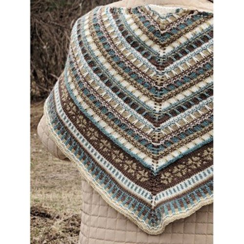 Knit One Crochet Too 2164 Oslo Shawl -  ()