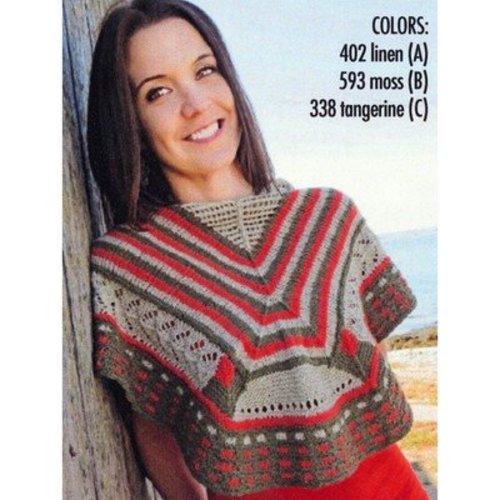 Knit One Crochet Too 2184 Teacher's Pet Shawl -  ()