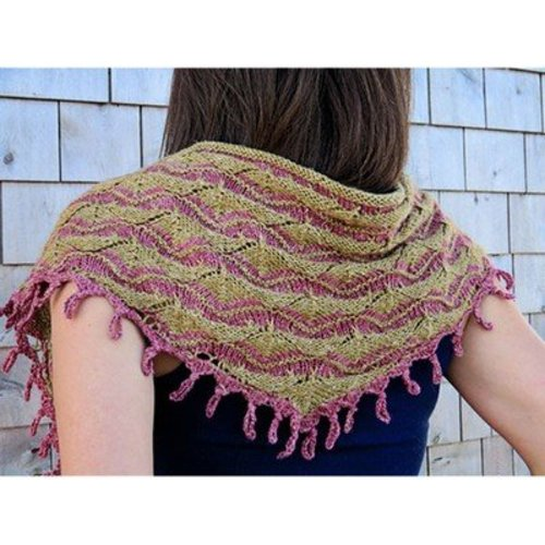 Knit One Crochet Too 2208 Antiquity Scarf -  ()