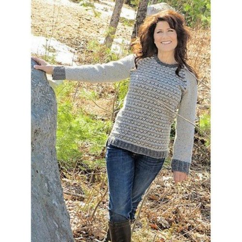 Knit One Crochet Too 2240 Gray Matter Pullover -  ()
