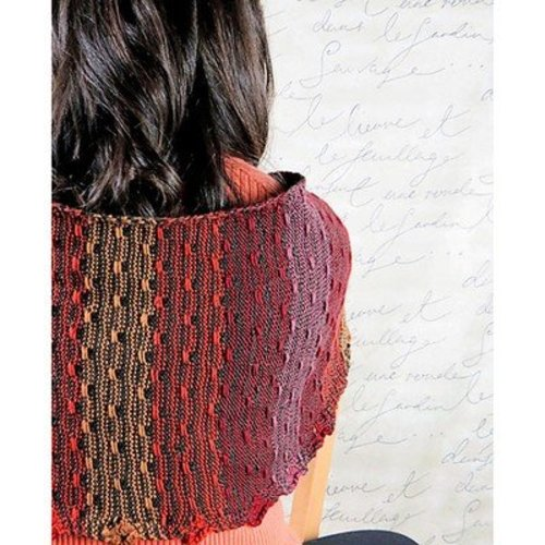 Knit One Crochet Too 2262 Reversible Pathways Shawl -  ()