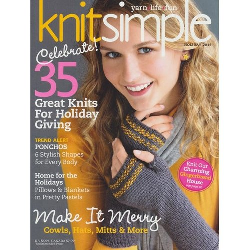 Knit Simple Knit Simple Magazine - Holiday - Holiday 2016 ()