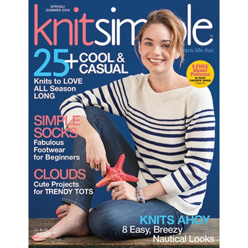 Knit Simple Magazine - Spring/Summer 2018 (SS18)