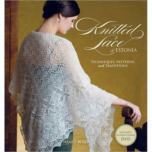 Knitted Lace of Estonia with DVD -  ()