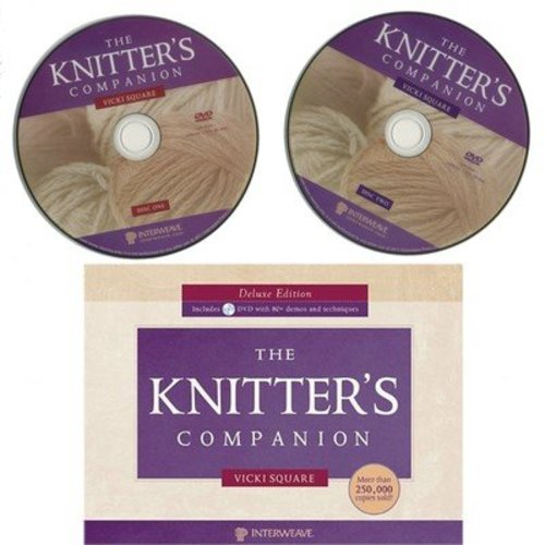 Knitter's Companion Deluxe Edition with DVD -  ()