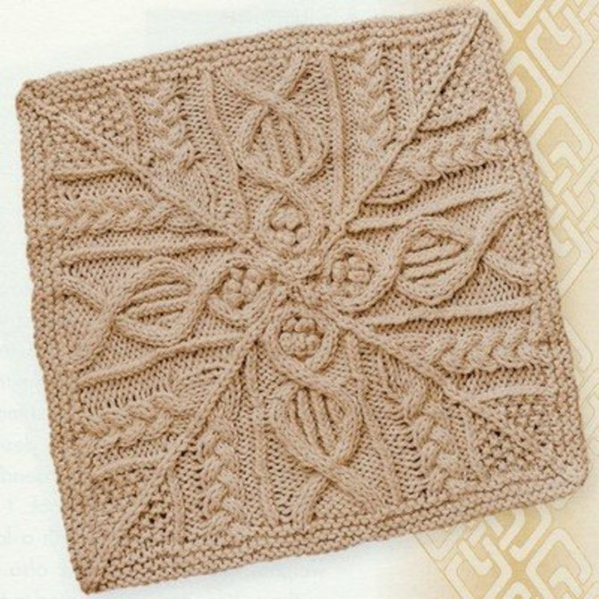 Knitter\'s Magazine The Great American Aran Afghan at WEBS | Yarn.com