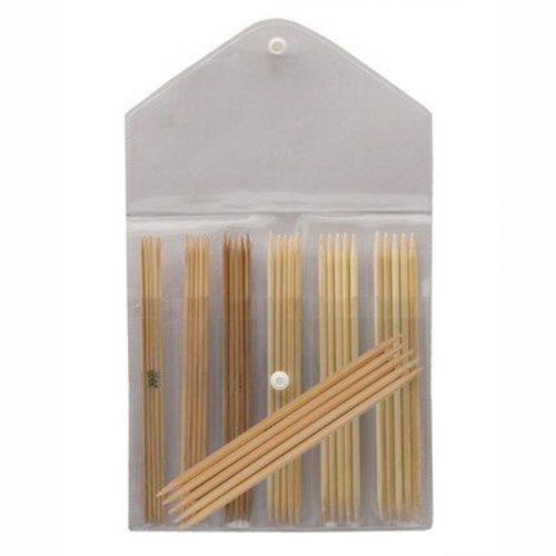 "Knitter's Pride Bamboo 6"" Double Pointed Needle Set -  ()"