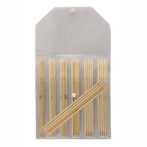 "Knitter's Pride Bamboo 8"" Double Pointed Needle Set -  ()"