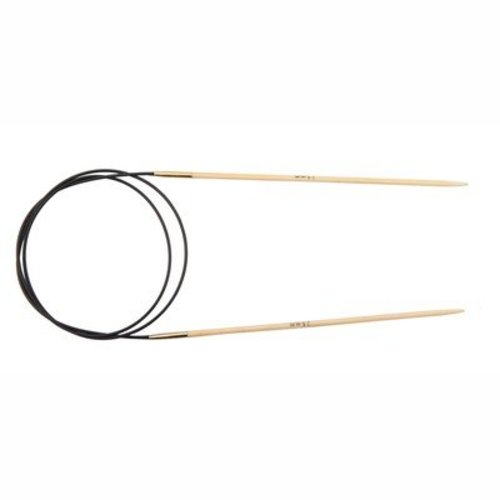 "Knitter's Pride Bamboo Fixed Circular Needles 24"" - US 1, 2.25mm (1)"
