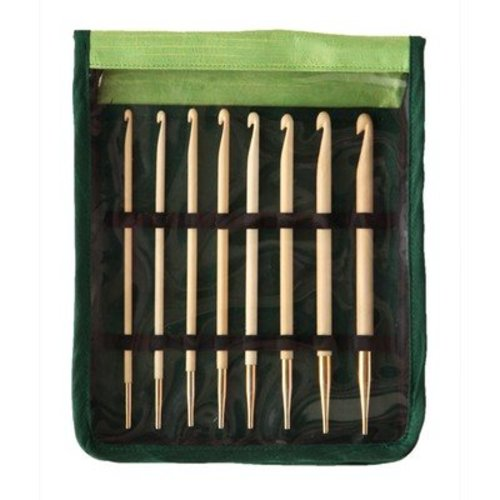 Knitter's Pride Bamboo Interchangeable Tunisian Crochet Hook Set -  ()