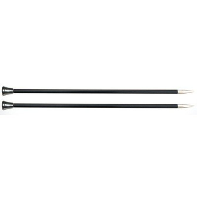"""Knitter/'s Pride Cubics Platina Single Pointed Needles 10/""""-Size 2.5//3mm"""