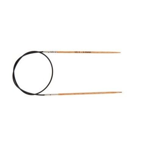 "Knitter's Pride Naturalz 24"" Fixed Circular Needles - US 0, 2.0mm (0)"