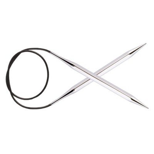 "Knitter's Pride Nova Cubics Platina Fixed Circular Needles 32"" - US 8, 5.00mm (8)"
