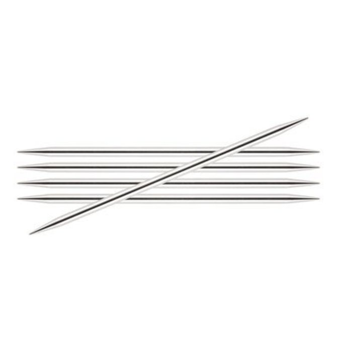 5 Knitters Pride 2.5//3mm Nova Platina Double Pointed Needles