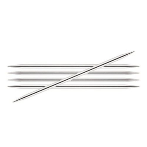 "Knitter's Pride Nova Platina Double Pointed Needles 8"" - US 5, 3.75mm (5)"