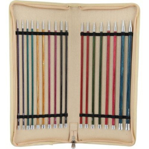 """Knitter's Pride Royale 10"""" Single Pointed Needle Set -  ()"""