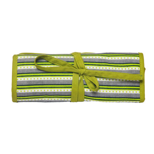 Knitter's Pride Fabric Interchangeable Needle Case - Greenery (GREE)