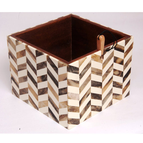 Knitter's Pride Wooden Yarn Box - Pearly (PRLY)