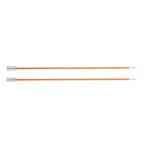 """Knitter's Pride Zing 10"""" Single Pointed Needles - US 2, 2.75mm (2)"""