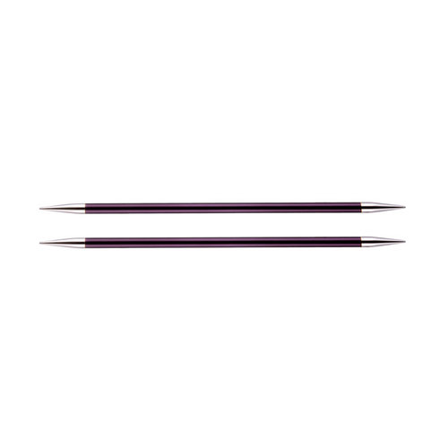 "Knitter's Pride Zing Double Pointed Needles 8"" - US 10, 6.0mm (10)"