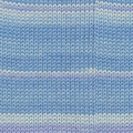 Knitting Fever Luxury Indulgence Cashmere - Bengala Print - Sky, Pale Blue (1511)