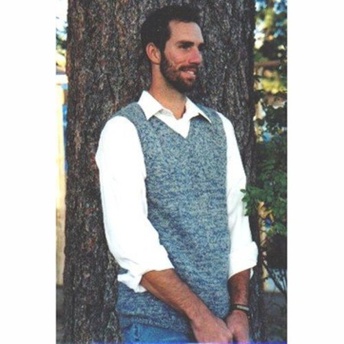 Knitting Pure & Simple 215 Basic Vest For Men -  ()