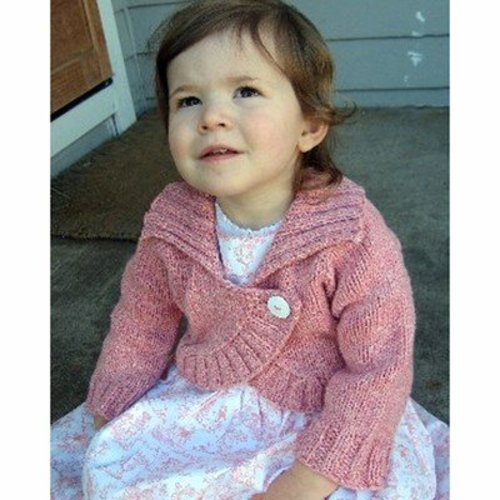 Knitting Pure & Simple 275 Child's Neck Down Bolero -  ()