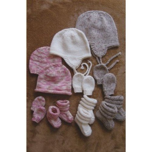 Knitting Pure & Simple 2910 Baby Hats, Mitts, and Booties -  ()