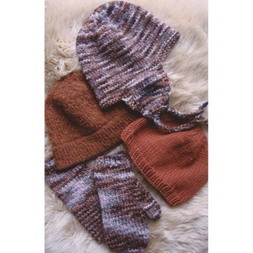 Knitting Pure & Simple 297 Bulky Hat and Mitten Set -  ()
