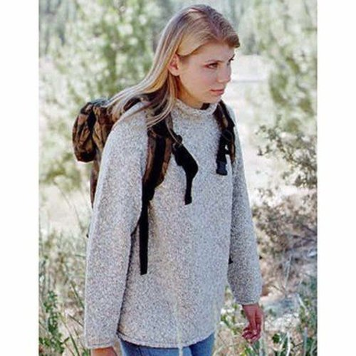 Knitting Pure & Simple 9724 Neck Down Pullover For Women -  ()