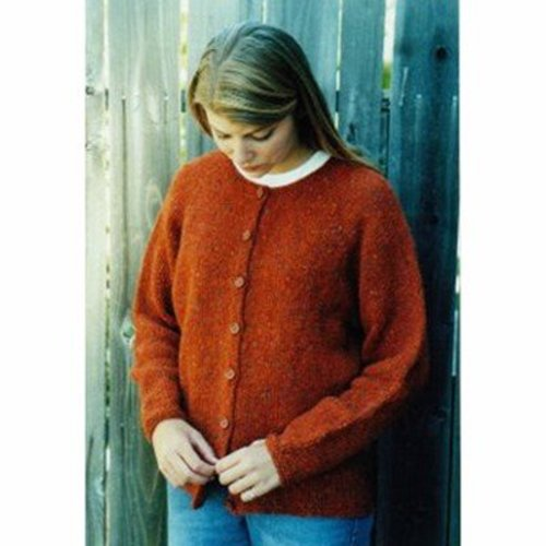 Knitting Pure & Simple 9725 Neck Down Cardigan For Women -  ()