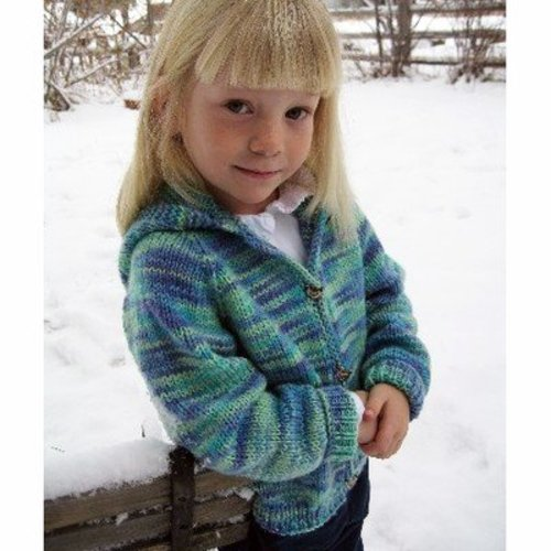 Knitting Pure & Simple 981 Children's Neckdown Cardigan -  ()