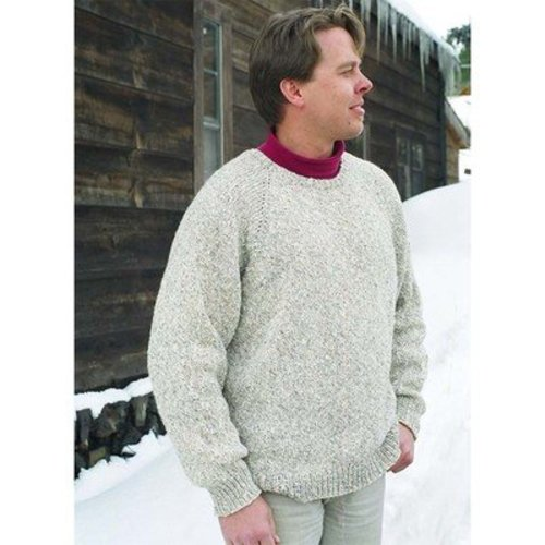 Knitting Pure & Simple 991 Neckdown Pullover For Men -  ()