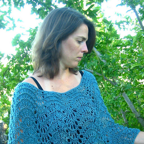 Knitting Pure & Simple Easy Lace Poncho -  ()