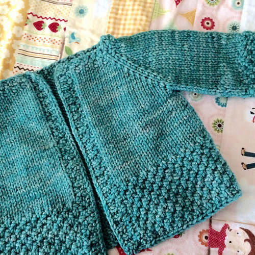 Knitting School Dropout Everybaby Cardigan PDF -  ()