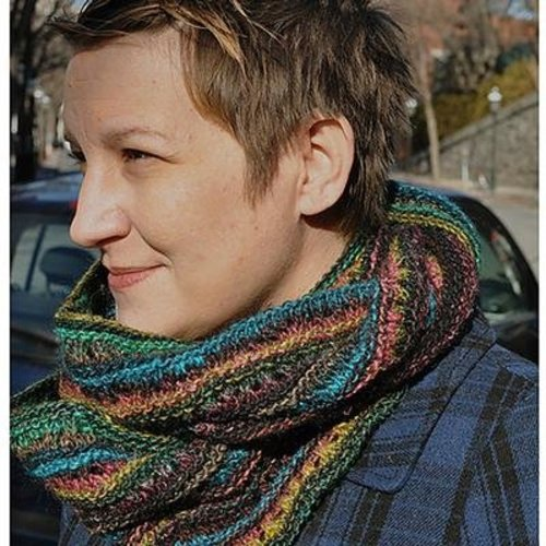 Knitting School Dropout Good Earth Cowl PDF -  ()