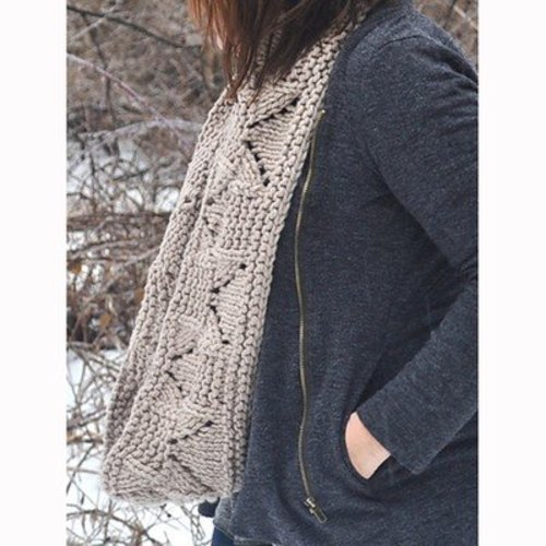 Knitting School Dropout Instant Infinity Cowl PDF -  ()