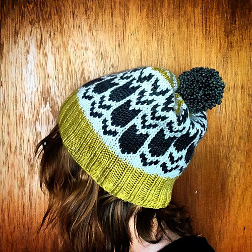 Knitting School Dropout Leverett Hat PDF -  ()