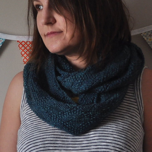 Knitting School Dropout Quilting Cowl PDF -  ()