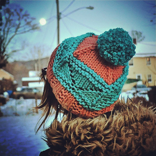 Knitting School Dropout Summit Hat PDF -  ()