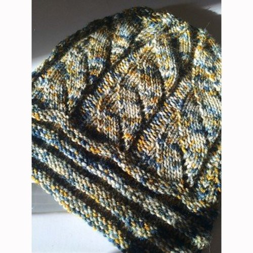 Knitting School Dropout Willow Hat PDF -  ()