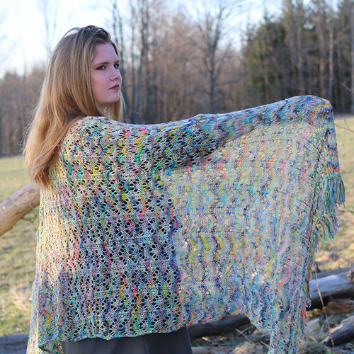 Koigu Jollie Waves Shawl Kit - Original (ORIG)