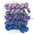 Koigu KPPPM Gradient Kit - Light Purple To Dk Turquoise (TURQUOISE)