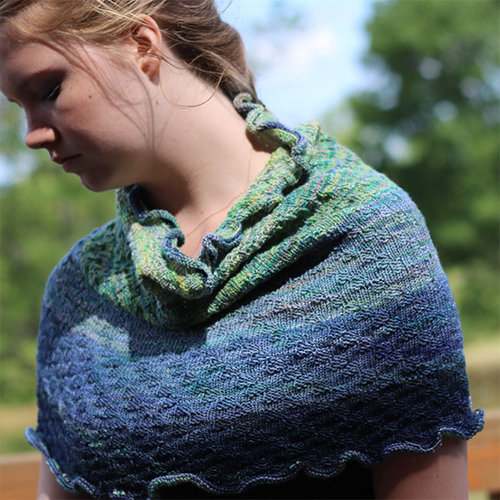 Koigu KPPPM Gradient Kit - Light Green To Navy (GREEN)