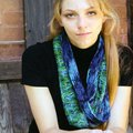 Koigu Mobius Crochet Cowl Kit - Blues-Greens (BLUE)