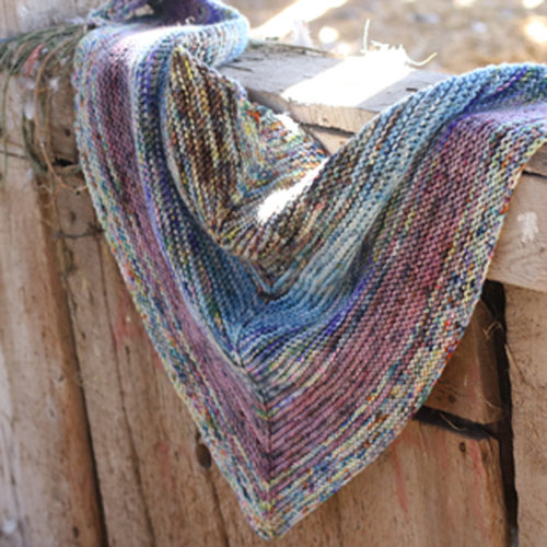 Koigu Painter's Palette Scarf Kit - Model (MODL)