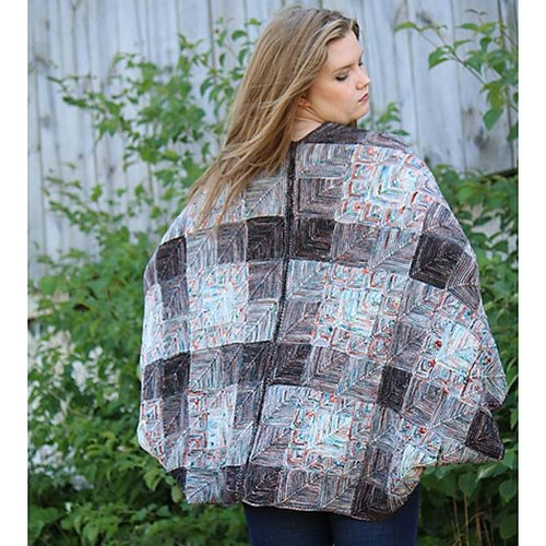 Koigu Viking Poncho Kit - Brown (BRWN)