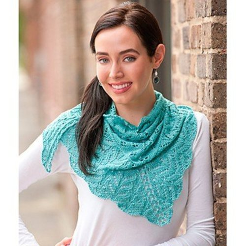 Kollage Yarns 3689 Little Iris Shawl -  ()